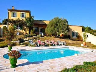 Villa 6p in St-Martin-de-Castillon, Luberon, private pool - Saint-Martin-de-Castillon vacation rentals