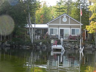 Charming Pine  Cottage tucked away on a Beautiful Spring Fed 9 Mile Lake. - West Enfield vacation rentals