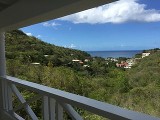 Spacious 2 bedroom apartment with Caribbean sea views, Mero, Dominica - Mero vacation rentals