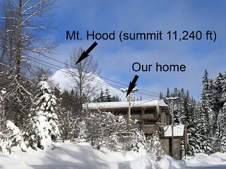 Mt Hood Studio Condo with Best Views of Ski Resort - Ski Free Offer Available - Government Camp vacation rentals