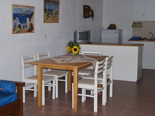 Estiades studios has a qiuet  and friendly environment..only 5 min.to the beach. - Kalafatis vacation rentals