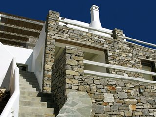 Scenic seaside house with pool - Livadi vacation rentals