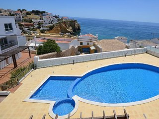 STUNNING OCEAN AND VILLAGE VIEW TOWN HOUSE - Carvoeiro vacation rentals