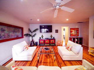 Designer Rental By The Beach - Unit A / 2 Bedroom - Folly Beach vacation rentals