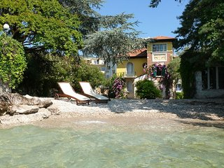 Lake side charming villa with its very own private beach and enclosed garden - Barbarano Di Salò vacation rentals