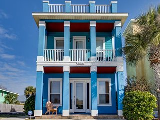 Lovely home near the beach w/ deck, gulf views, & more - snowbirds welcome! - Panama City Beach vacation rentals
