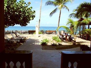 Beachfront on Sandy Beach- Pelican Point Apt A - Rincon vacation rentals