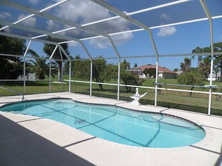 Beautiful waterfront pool home 3bed 2bath (basic rental) - Rotonda West vacation rentals
