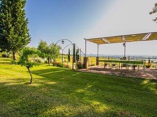 Private villa with pool near Cortona, Villa I Girasoli - Cignano vacation rentals