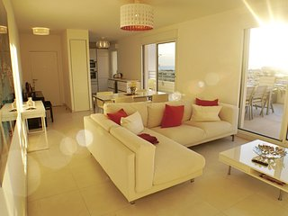 Penthouse Top Floor Ocean View Walk to All - Juan-les-Pins vacation rentals