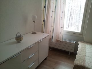 Bright Condo with Central Heating and Television - Ristiina vacation rentals