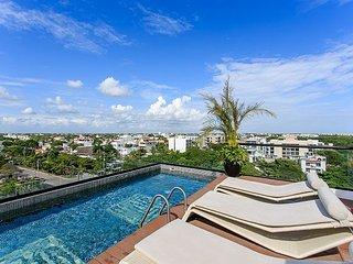 IT Building 202 + Near Best Beach + up to 5 pax - Playa del Carmen vacation rentals