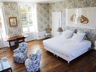 Château de Moison - Domaine Eco-Nature, La Suite Nuptiale Bleue - Ivoy le Pre vacation rentals
