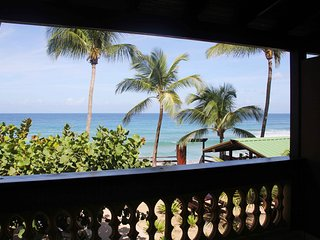 Beachfront on Sandy Beach- Pelican Point Apt B - Rincon vacation rentals