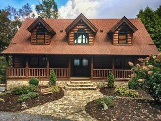 Mountain House-Custom Log Home with Great View - Banner Elk vacation rentals