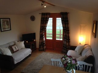 The Lodge, Newmill Farm. A cosy cabin in beautiful countryside. - Dolphinton vacation rentals