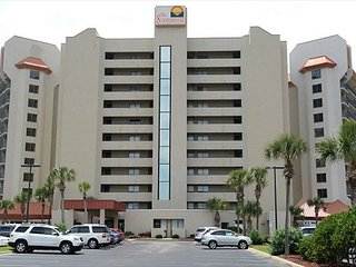 Gulf Front 2 bed/2 bath Masters On Gulf Sleeps 7 First floor unit new kitchen - Panama City Beach vacation rentals