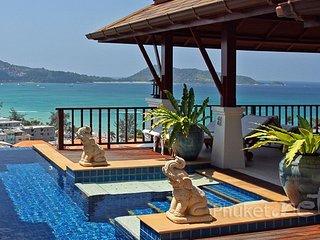 Superb Sea View Villa in Patong - Patong vacation rentals