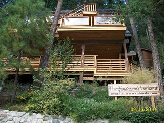 The Shuswap Lake Lookout.1000ft of Patios,Hot Tub,Dock,Boat Launch- 2 Suites Inc - Celista vacation rentals