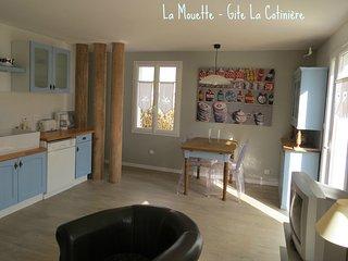 Maison de charme, bord de mer, 2 ch, 4 personnes, - La Cotiniere vacation rentals