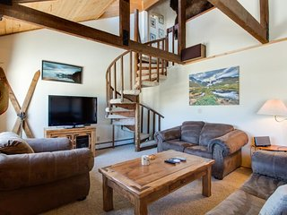 Spacious duplex w/ fireplace, mountain views; near town & world-class skiing! - Silverthorne vacation rentals