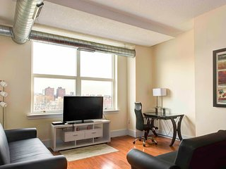 Cast Iron Lofts One-Bedroom Suite in Soho West By Pelican Residences - Jersey City vacation rentals