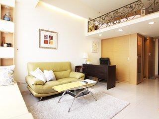 Luxury Serviced Apts near MRT Taipei 101 with pool - Taipei vacation rentals