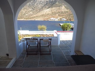 Seaside family house, sunset view, playground - Kamares vacation rentals