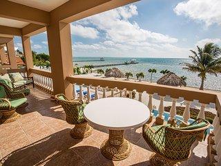 Luxury Beachfront 3 bedroom / 2 bath condo - Hol Chan Reef Resort, 2nd fl (2A) - San Pedro vacation rentals