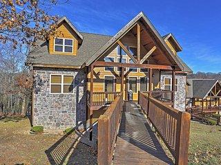NEW! Beautiful 6BR Branson Cabin w/Mountain Views! - Branson vacation rentals