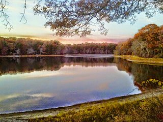 PRIVATE BEACH ON A BEAUTIFUL LAKE - Falmouth vacation rentals