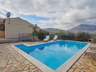 VILLA OLIMPIA with 4 bedrooms, swimming pool and sea view - Scopello vacation rentals