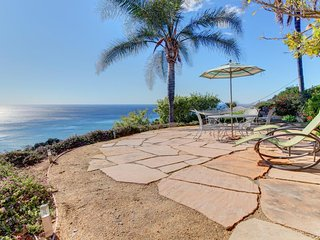 Bluffside Malibu paradise w/ spectacular ocean views, furnished patio - Malibu vacation rentals