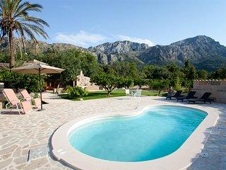 Can Pintat - Peaceful Villa in Pollensa son Marc - Pollenca vacation rentals