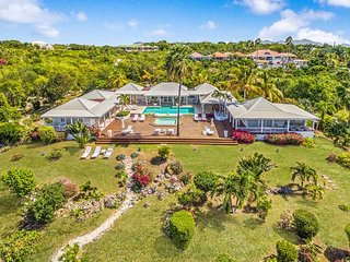 Clair de Lune at Terres Basses, Saint Maarten - Ocean View, Pool And Whirlpool. - Terres Basses vacation rentals