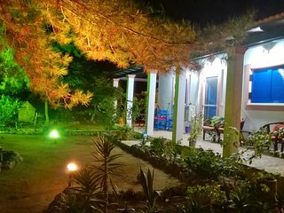 Villa with wonderful garden on the beach in Corfu - Lefkimi vacation rentals