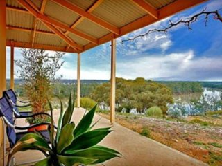 Eco House with Magnificent Views of the Murray River - Morgan vacation rentals