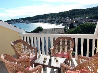 Seaview Apartment in Tisno Near Center TP76A1 - Tisno vacation rentals