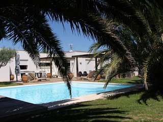 Villa Renoir, spacious contemporary home with large  garden and private pool. - Béziers vacation rentals