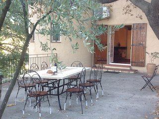Catalan style Villa Mathilde with beautiful gardens, pool, parking and free wifi - Bouleternere vacation rentals