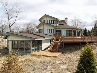 Expansive Beach House with Private Beach Near Quaint Lakeside Town - Saint Joseph vacation rentals