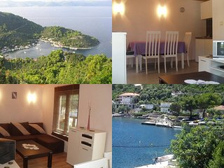 Romantic 1 bedroom Mljet Condo with Deck - Mljet vacation rentals