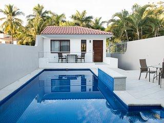 Newly Built Casita Steps to Beach in Bucerias - Bucerias vacation rentals