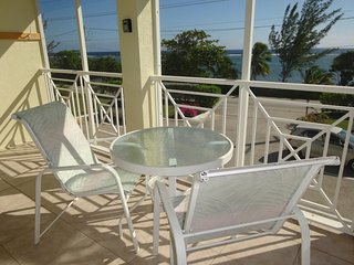 Grand Cayman: large 2 bedroom,2 bedroom apartment with a sea view terrace - Bodden Town vacation rentals