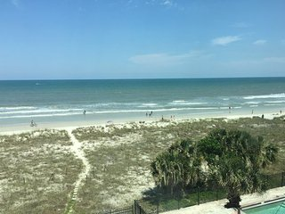 Fully furnished oceanfront condo with amazing views - Jacksonville Beach vacation rentals