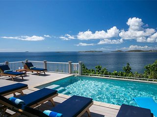 Coqui: Lovely Cliffside Villa! 180 degree Panoramic View! - Chocolate Hole vacation rentals
