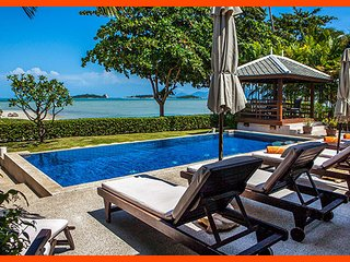 Villa 01 - Beach front private pool and sunset views - Plai Laem vacation rentals