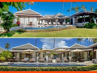 Villa 236 - 2 Side By Side Beach Front Villas - Plai Laem vacation rentals