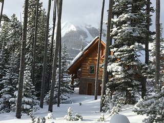 Ski in/ Ski-Out Luxury Log Home, Close to Everything, Mountain Village - Gallatin Gateway vacation rentals