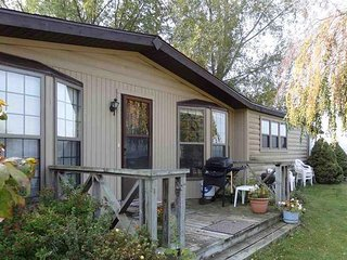 Portage Lake Cottage with Boat Dock - Onekama vacation rentals